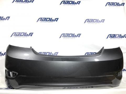 Бампер Hyundai Solaris(10-) задний СЕДАН Серый (SAE) купить в Санкт-Петербурге цена
