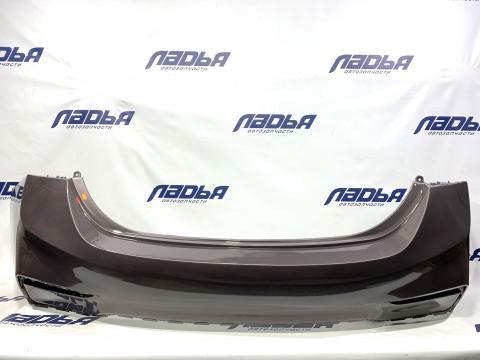 Бампер Hyundai Solaris(17-) задний Коричневый S4N купить в Санкт-Петербурге цена