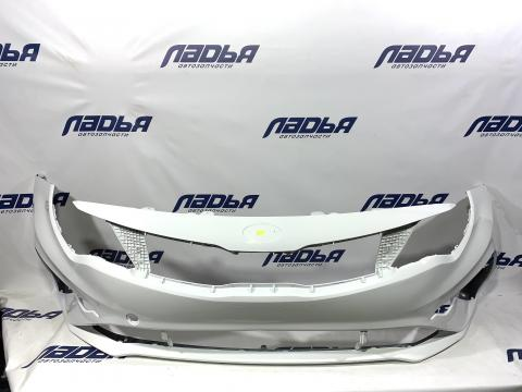 Бампер Kia Optima(18-20) передний Белый Clear White UD купить в Санкт-Петербурге цена