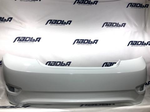 Бампер Hyundai Solaris(10-) задний СЕДАН Белый (PGU) купить в Санкт-Петербурге цена